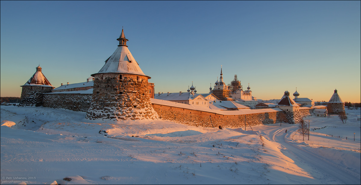 Solovki - the harsh winter Beauty of the North 15