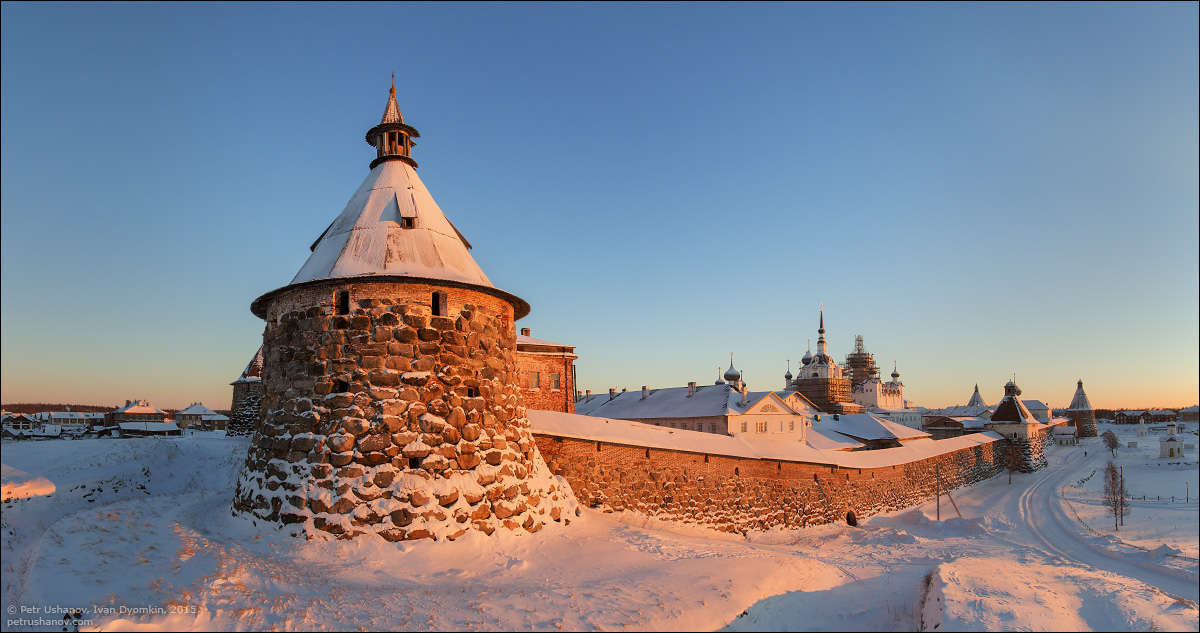 Solovki - the harsh winter Beauty of the North 16