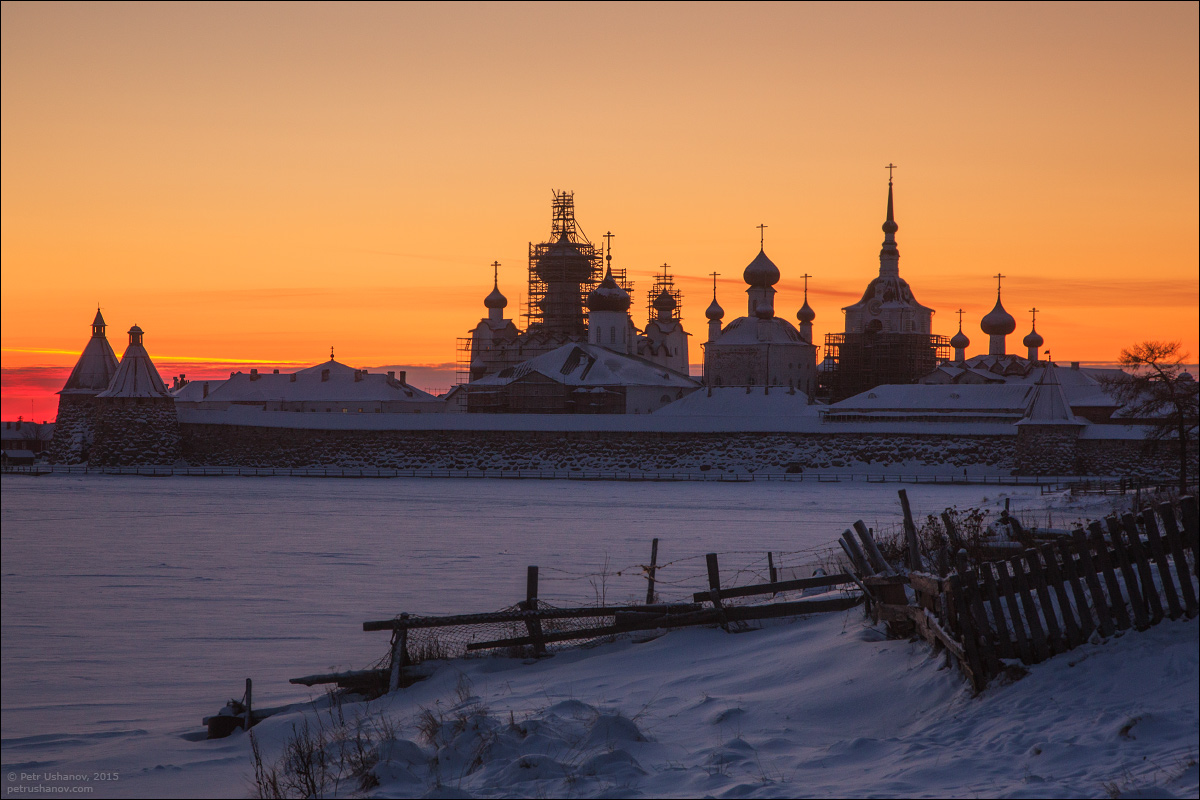 Solovki - the harsh winter Beauty of the North 17