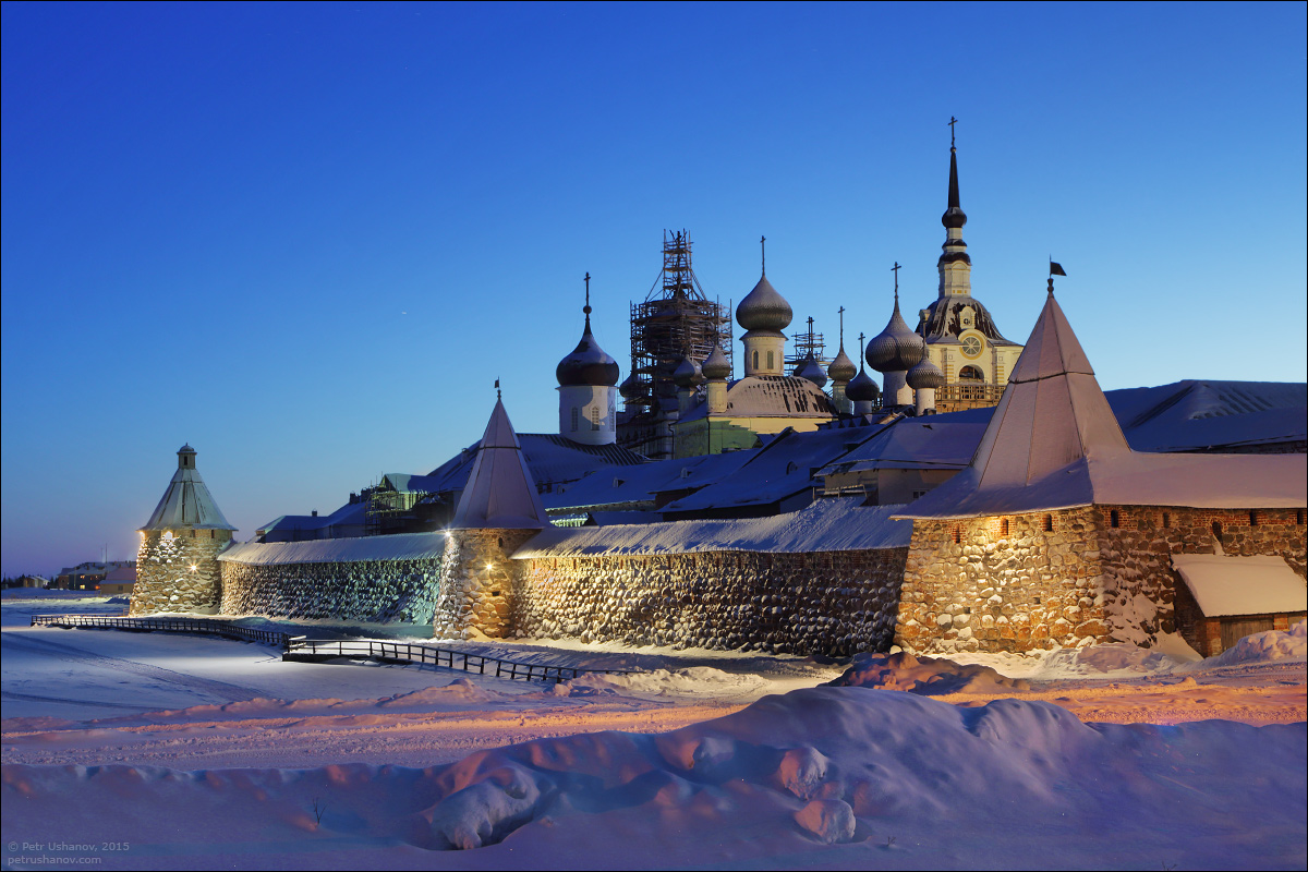 Solovki - the harsh winter Beauty of the North 19
