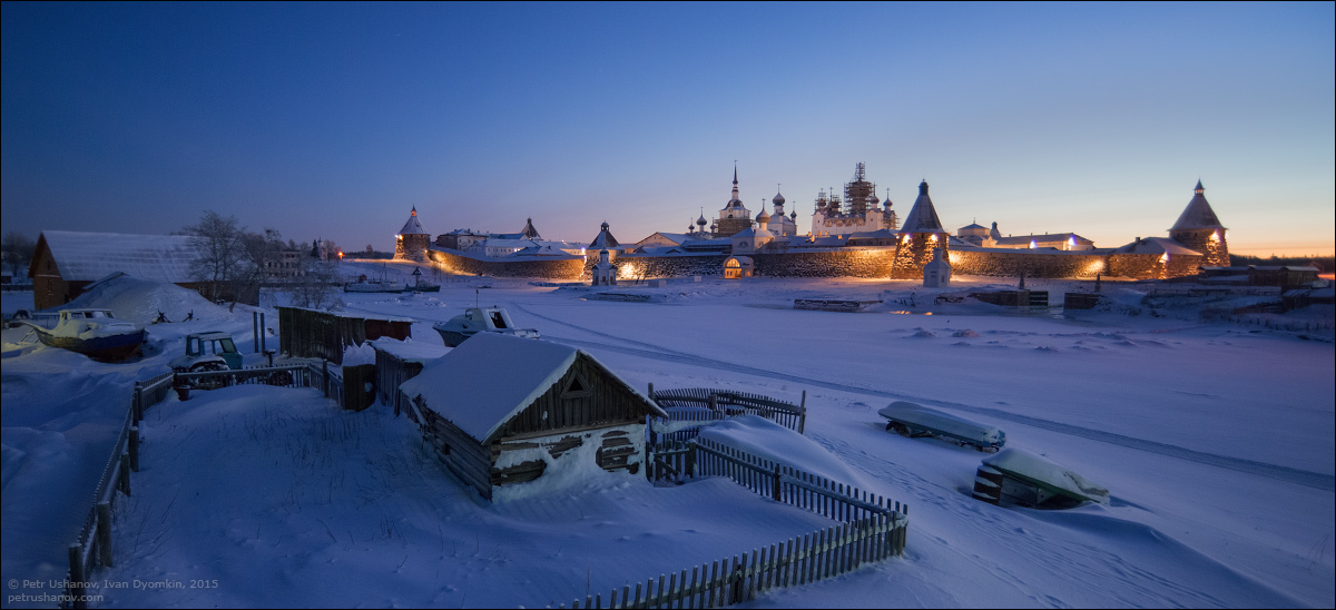 Solovki - the harsh winter Beauty of the North 20