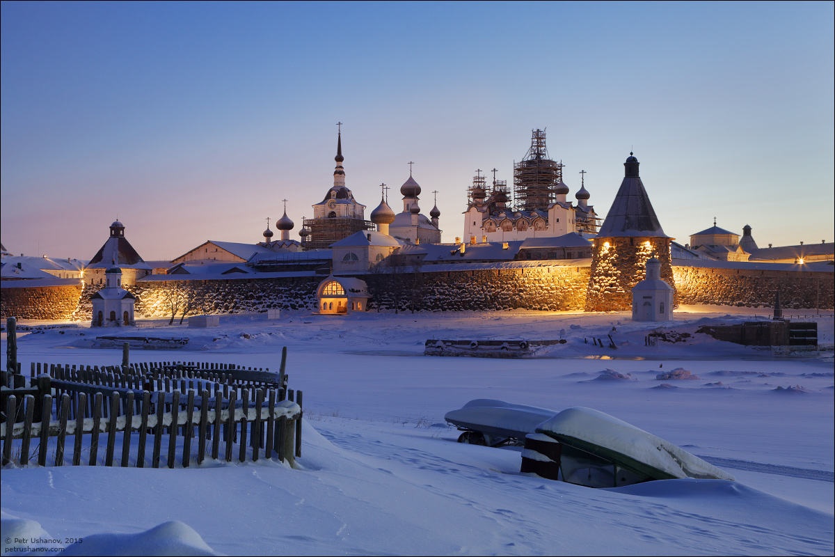 Solovki - the harsh winter Beauty of the North 21