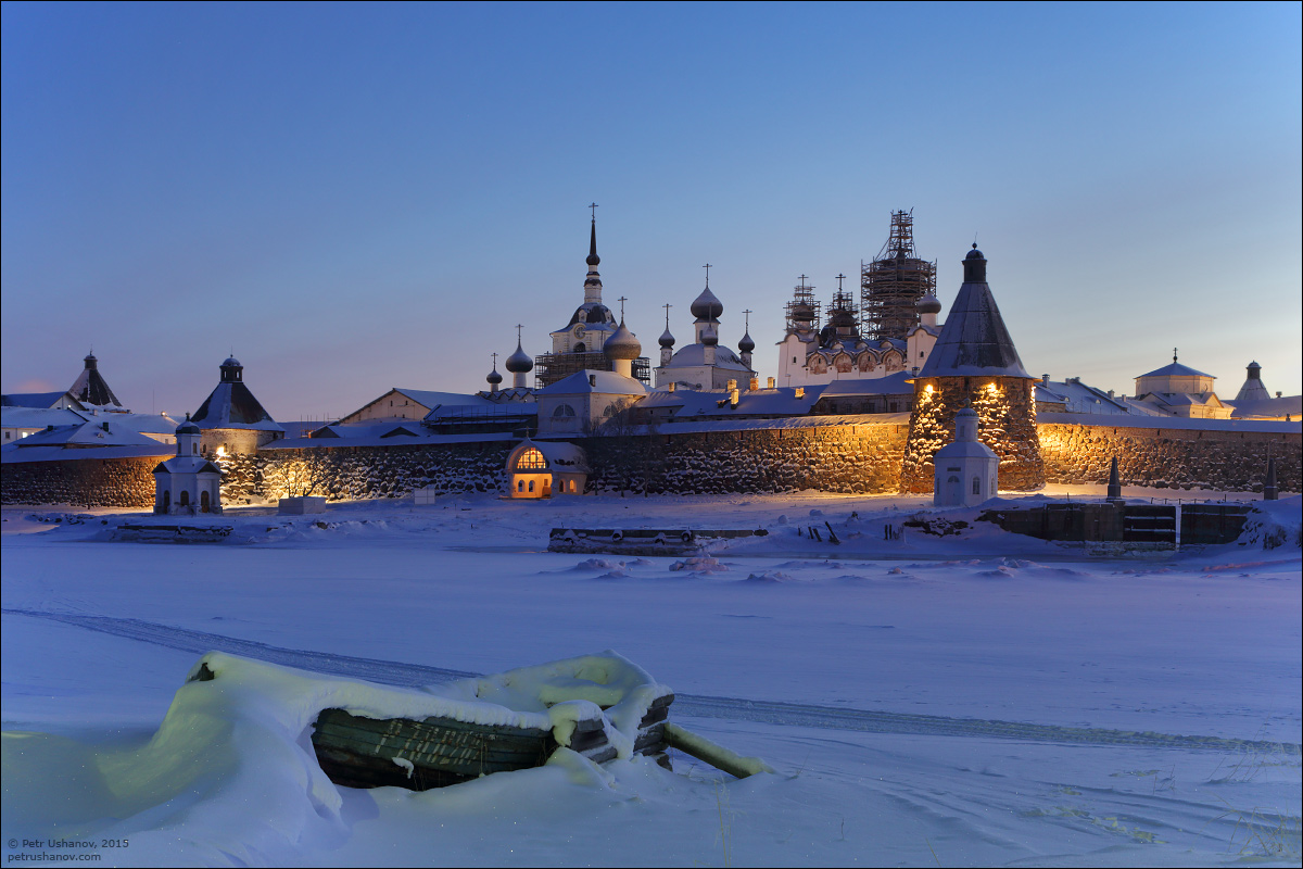 Solovki - the harsh winter Beauty of the North 22