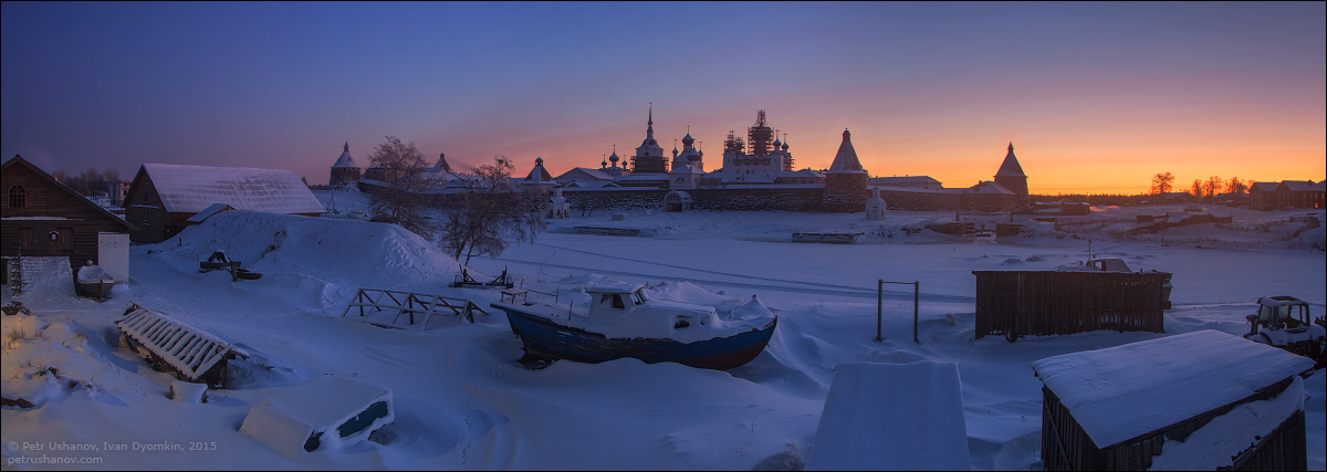Solovki - the harsh winter Beauty of the North 23