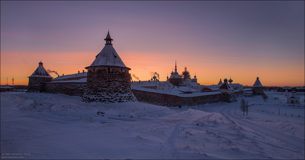 Solovki - the harsh winter Beauty of the North 24