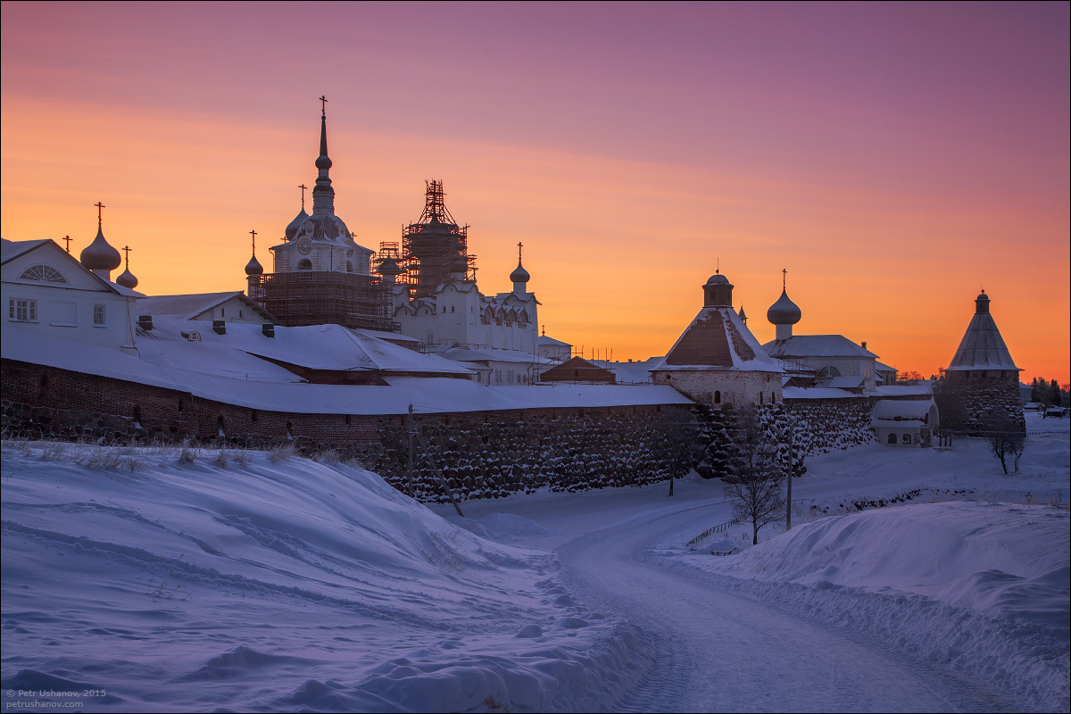 Solovki - the harsh winter Beauty of the North 25