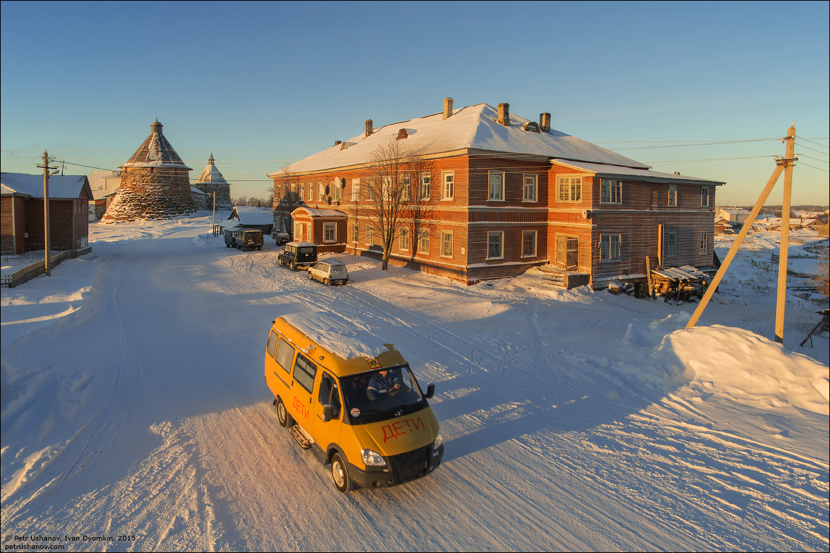 Solovki - the harsh winter Beauty of the North 28
