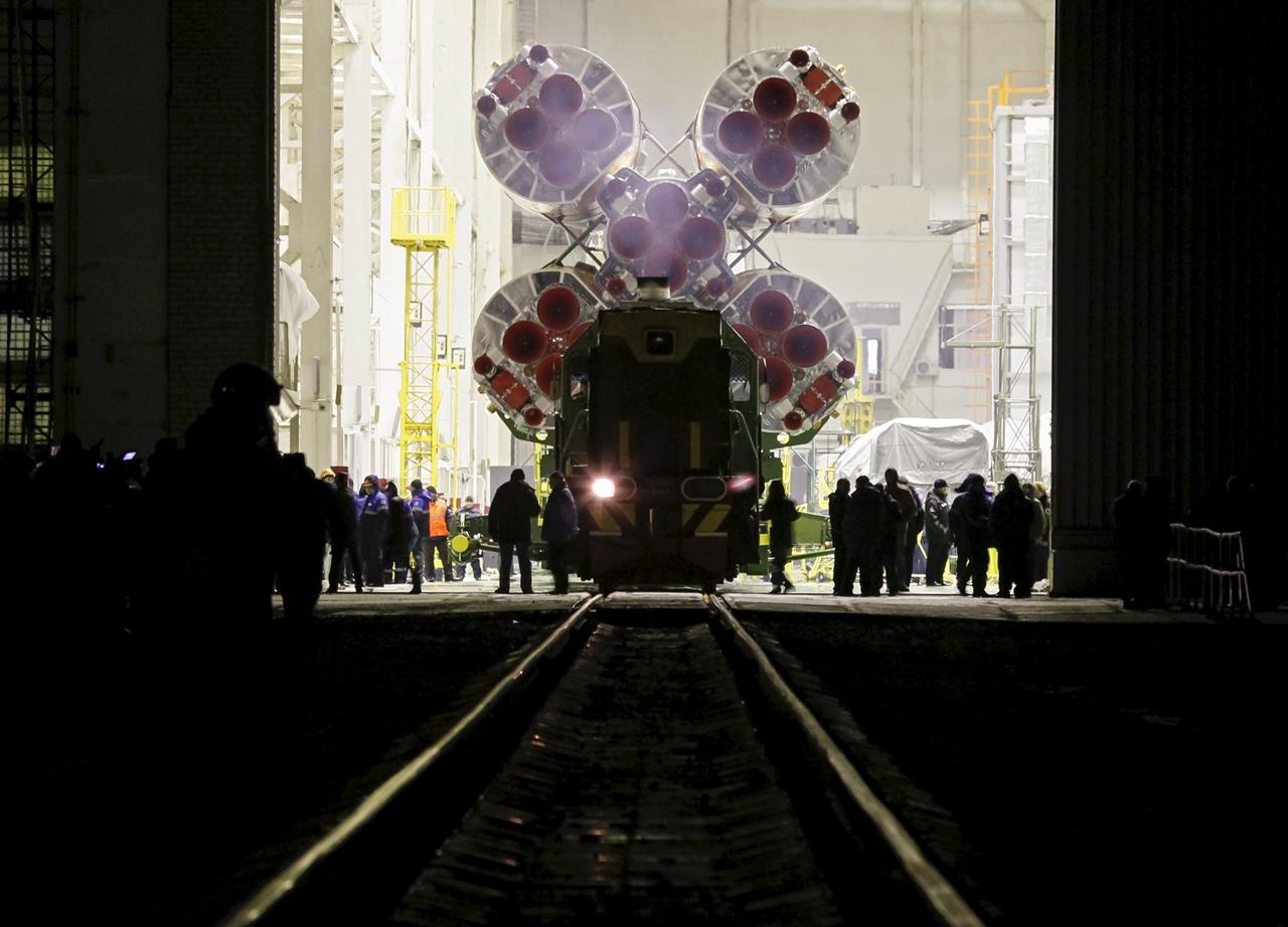 Start of spacecraft Soyuz TMA-19M 02