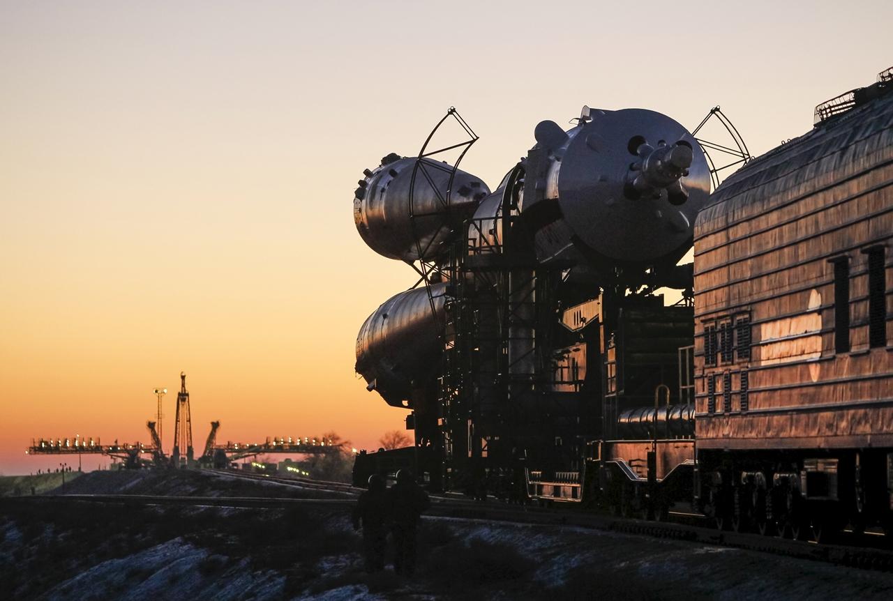 Start of spacecraft Soyuz TMA-19M 04