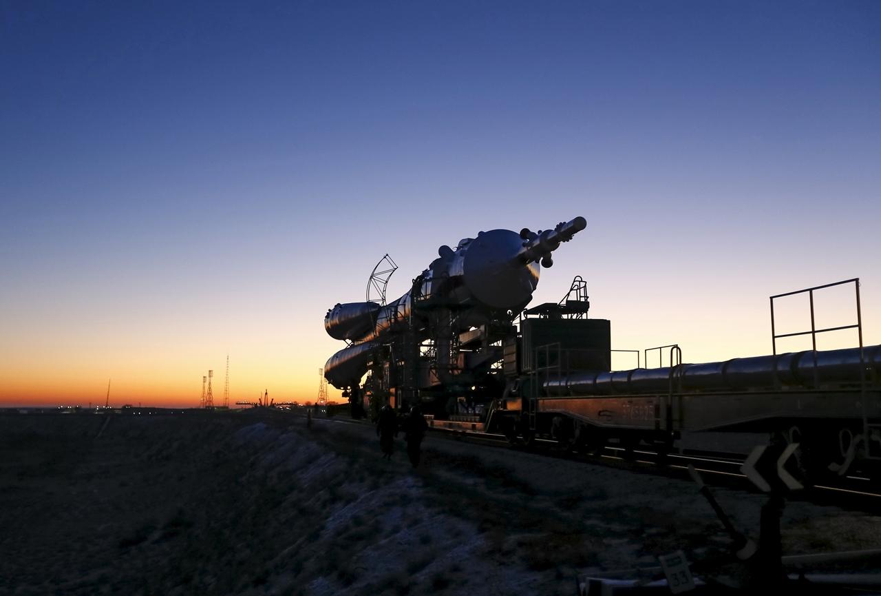 Start of spacecraft Soyuz TMA-19M 05