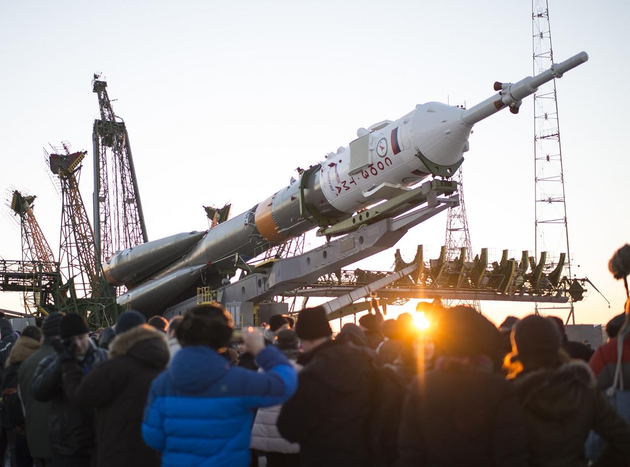 Start of spacecraft Soyuz TMA-19M 07