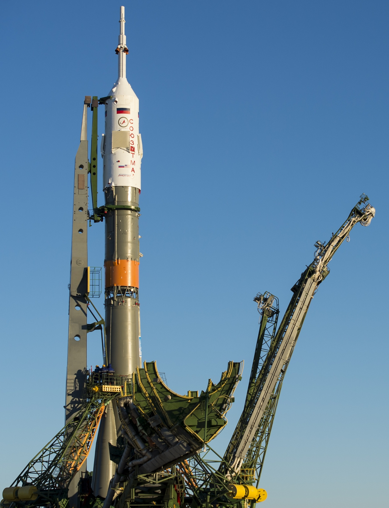 Start of spacecraft Soyuz TMA-19M 09