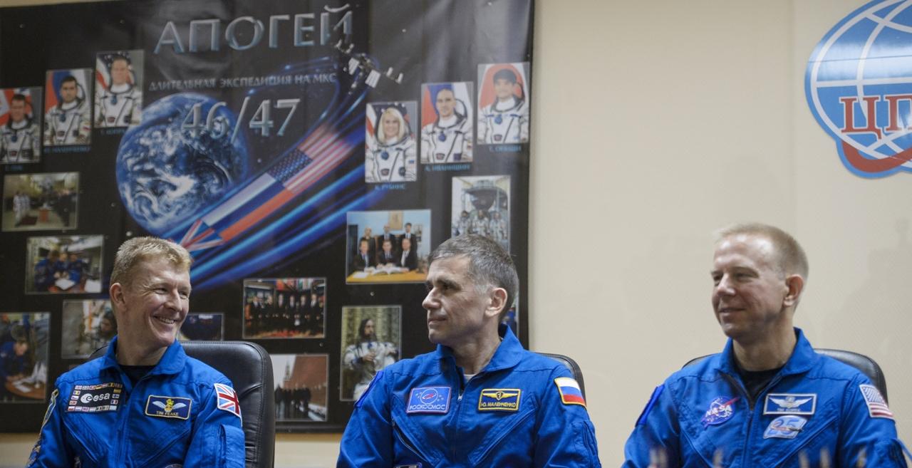 Start of spacecraft Soyuz TMA-19M 14