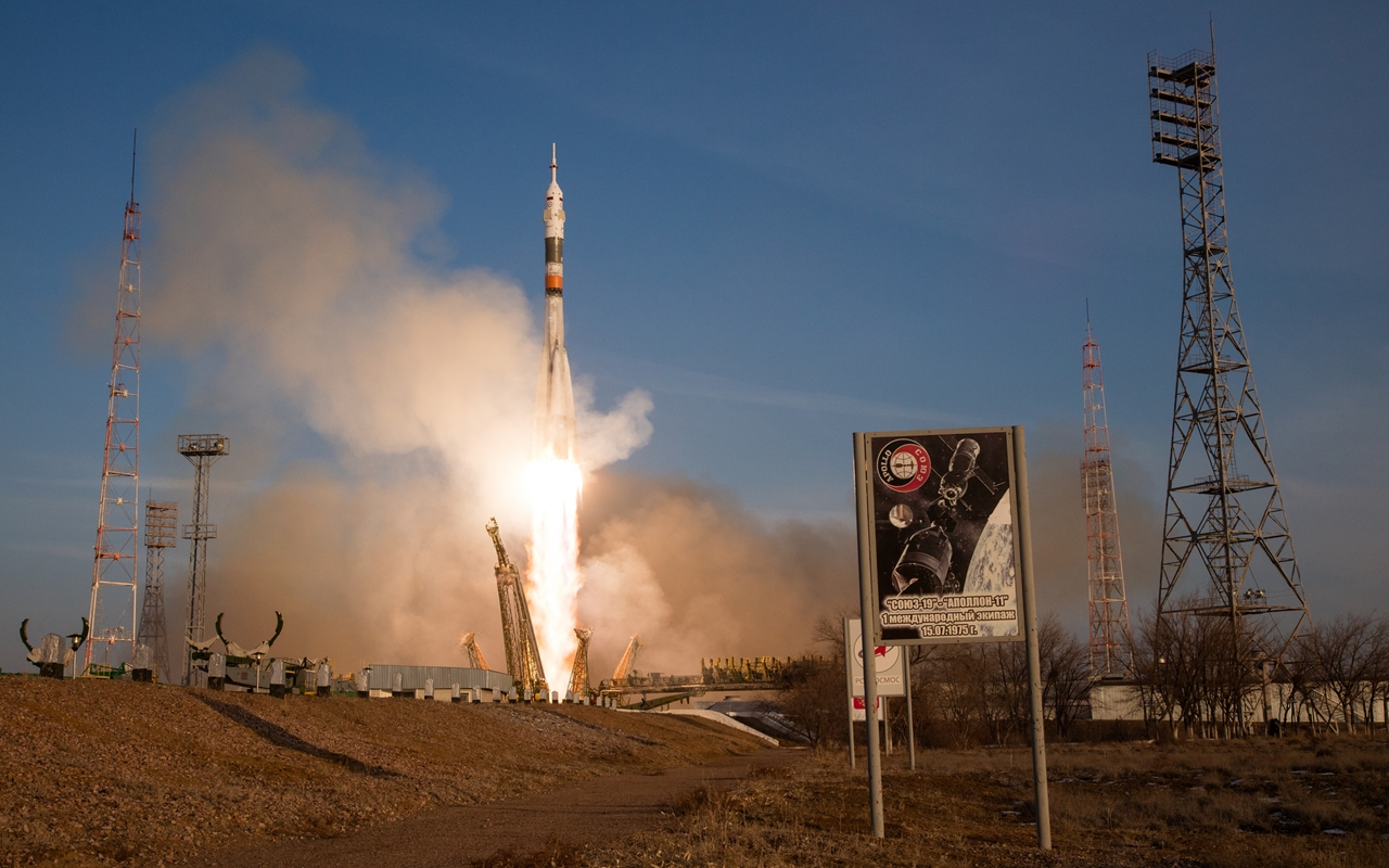 Start of spacecraft Soyuz TMA-19M 17