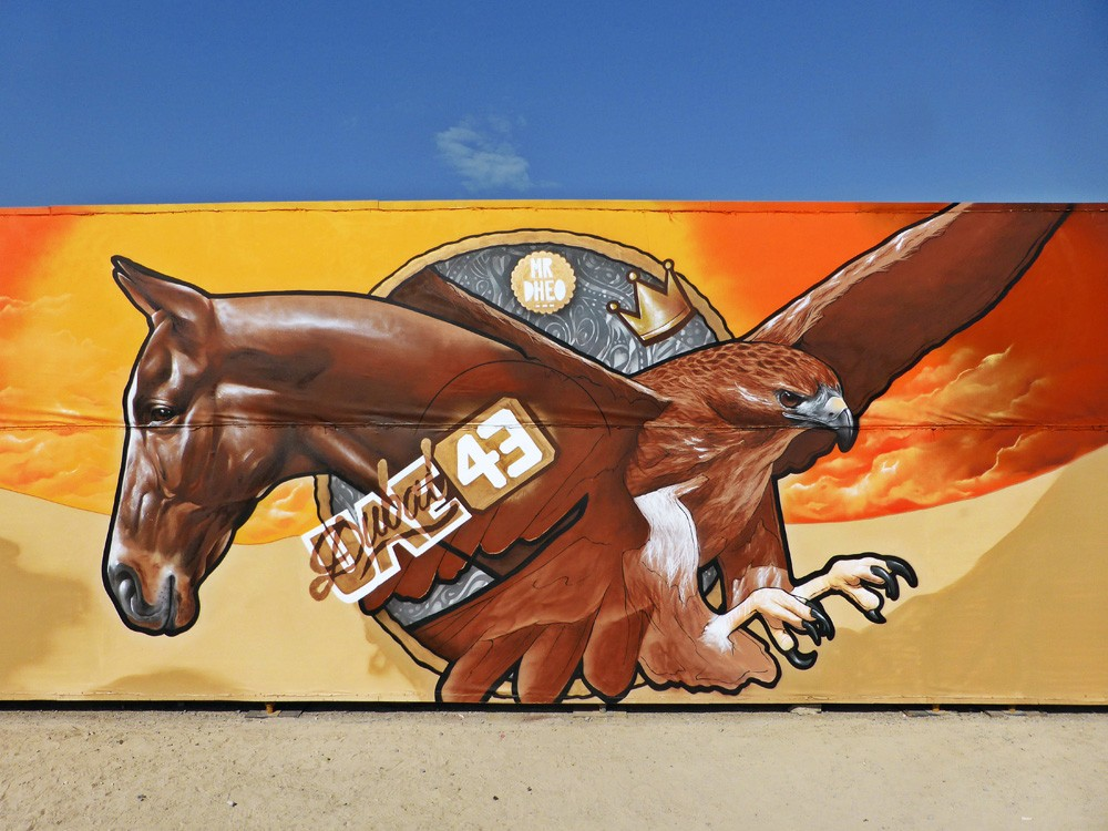 Striking Street Art works from MrDheo 04