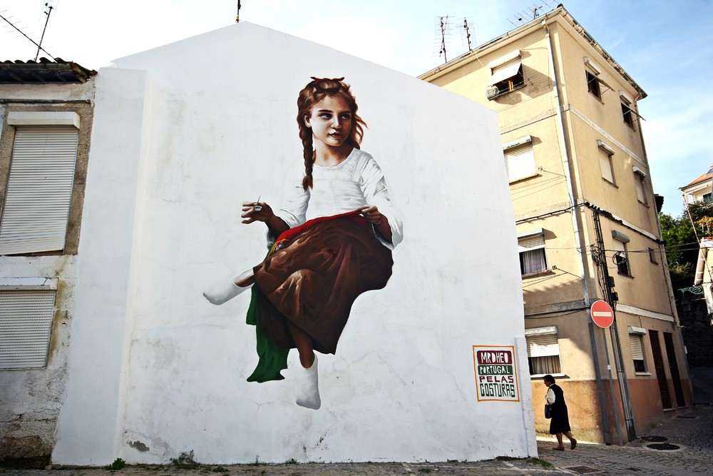 Striking Street Art works from MrDheo 08
