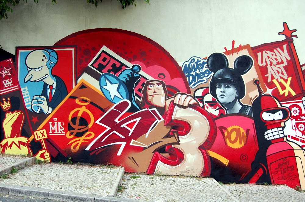 Striking Street Art works from MrDheo 15