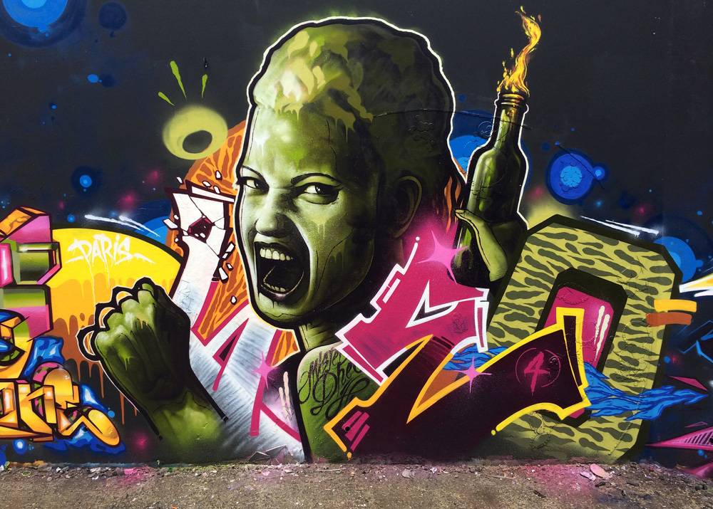 Striking Street Art works from MrDheo 17
