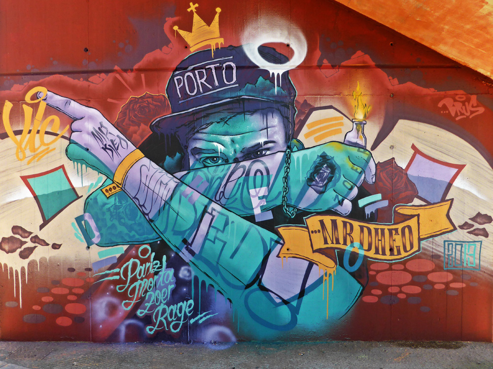 Striking Street Art works from MrDheo 24