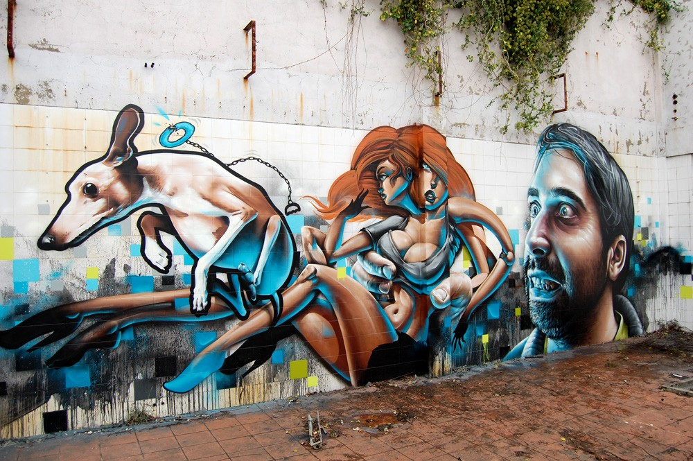 Striking Street Art works from MrDheo 28