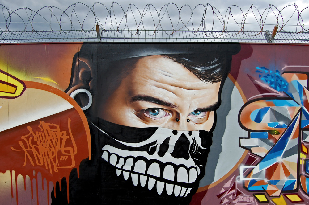 Striking Street Art works from MrDheo 29