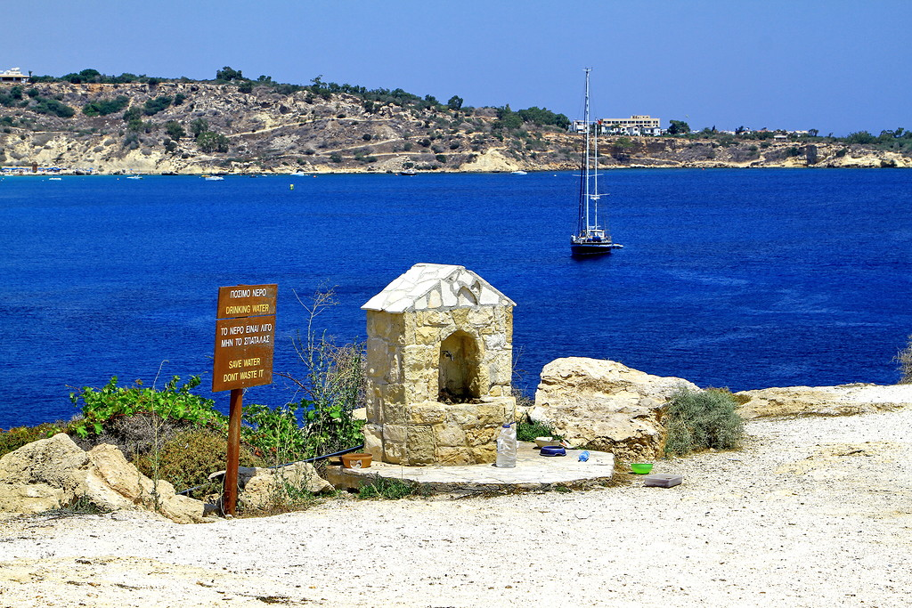 The Church of Agia anargyroi and Konnos beach in Cyprus 03