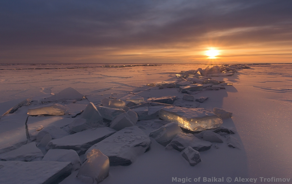 The Magic Of Lake Baikal. Virtual photo exhibition 01