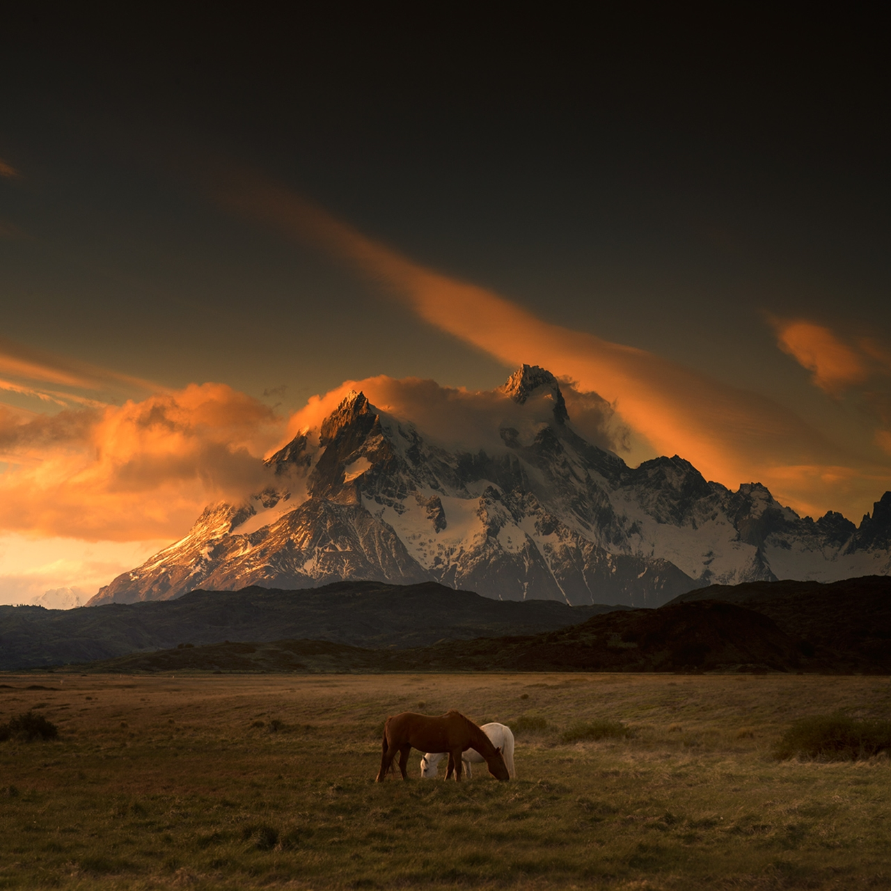 The beautiful scenery mountains Chile photos Andy Lee 02