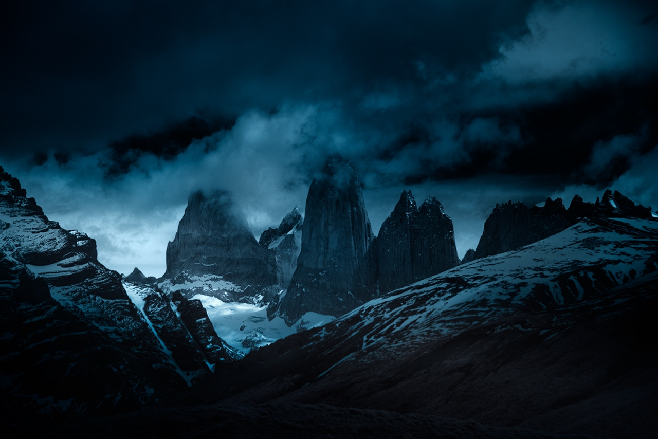 The beautiful scenery mountains Chile photos Andy Lee 08