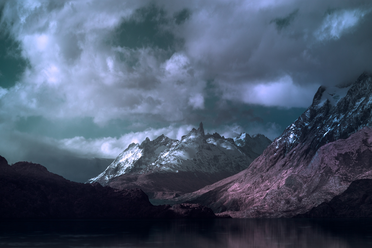 The beautiful scenery mountains Chile photos Andy Lee 09