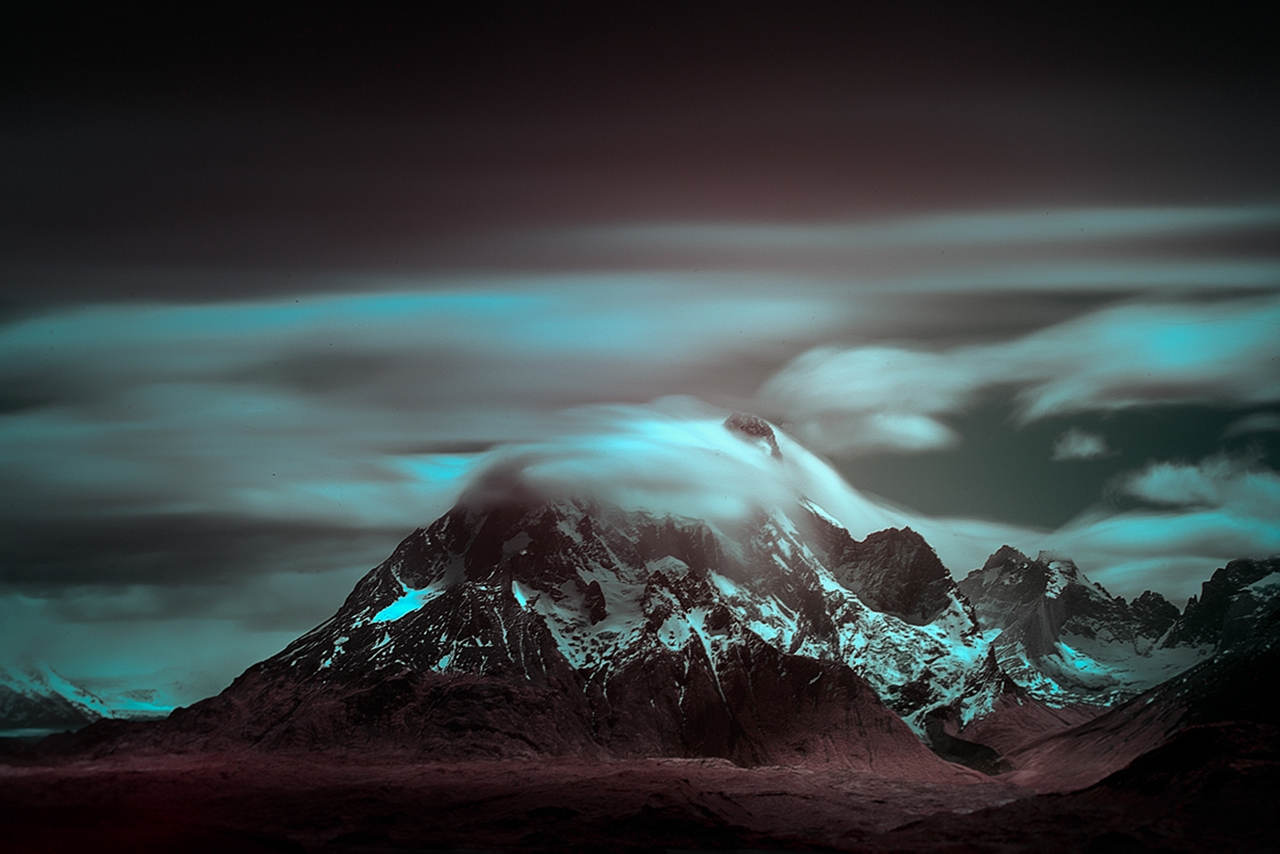 The beautiful scenery mountains Chile photos Andy Lee 10