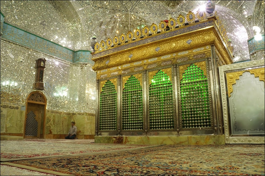 The mausoleum of Shah cheragh in Shiraz Iran 11