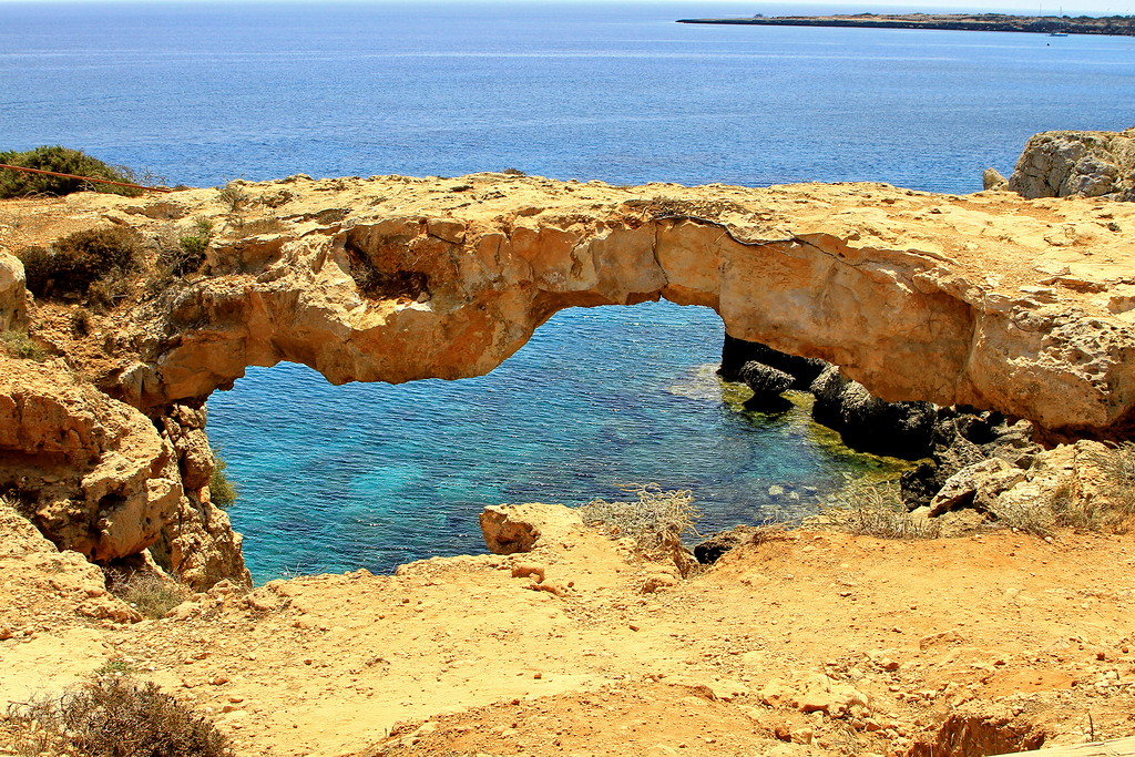 The sinners bridge at Cape Greco 01