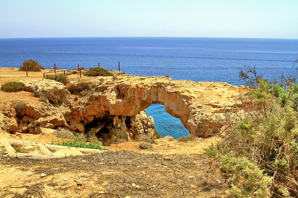 The sinners bridge at Cape Greco 03