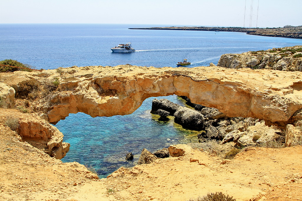 The sinners bridge at Cape Greco 05