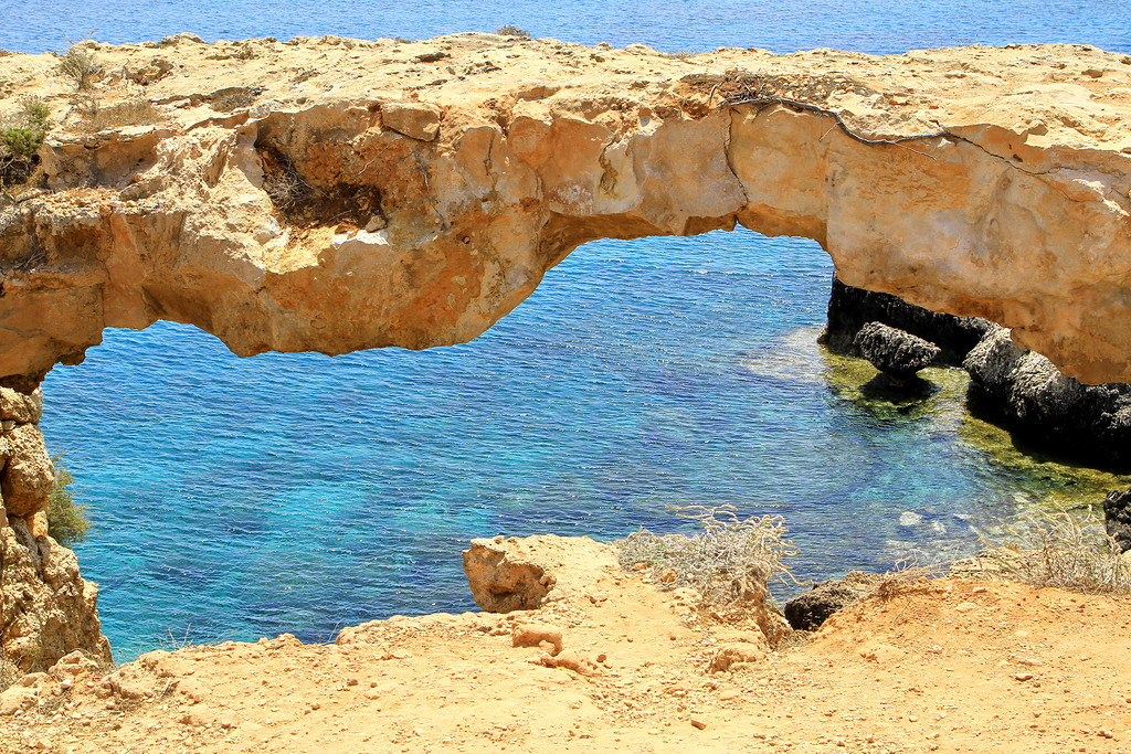 The sinners bridge at Cape Greco 06