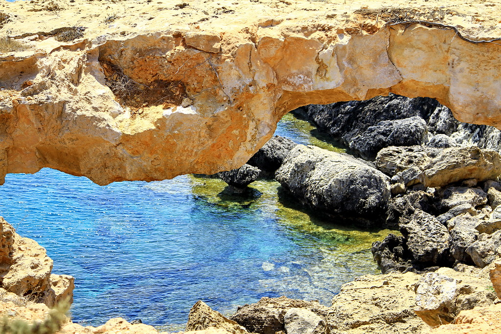 The sinners bridge at Cape Greco 07