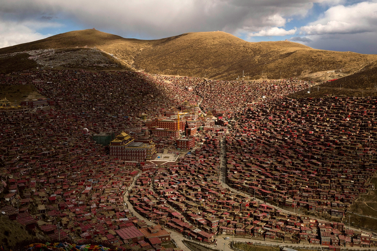 Tibetan Buddhists Gather for the Bliss Dharma Assembly 03