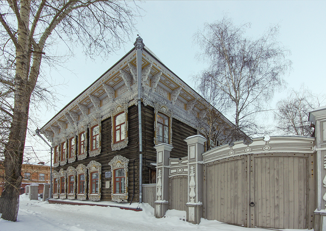 Прогулка по Томску: прогулка в позапрошлый век
