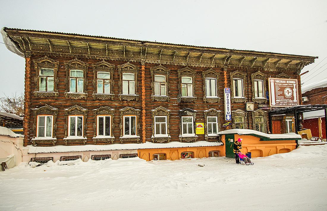 Walk in Tomsk 36