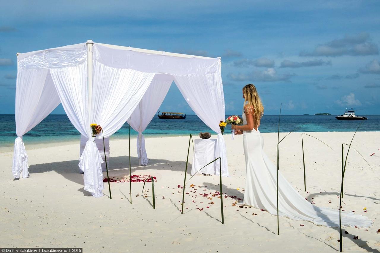 Wedding ceremony in the Maldives 05