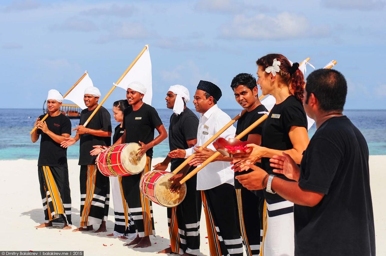 Wedding ceremony in the Maldives 07