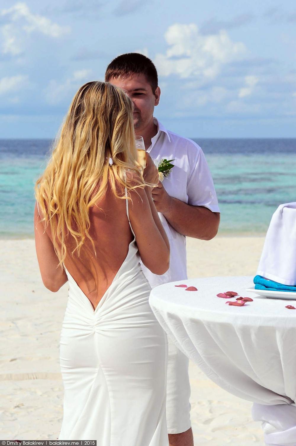 Wedding ceremony in the Maldives 10