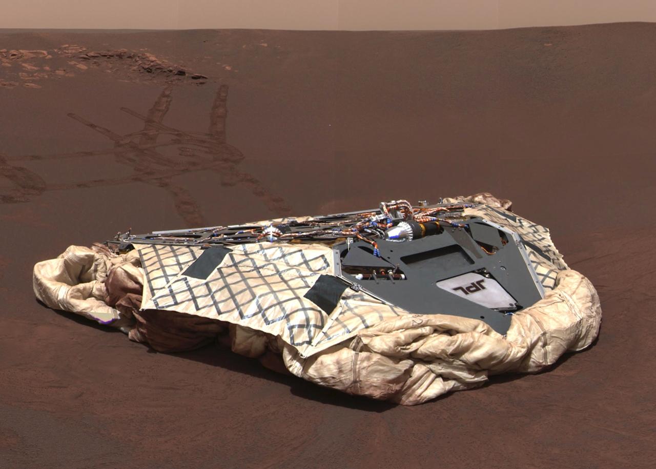 12 лет на Марсе
