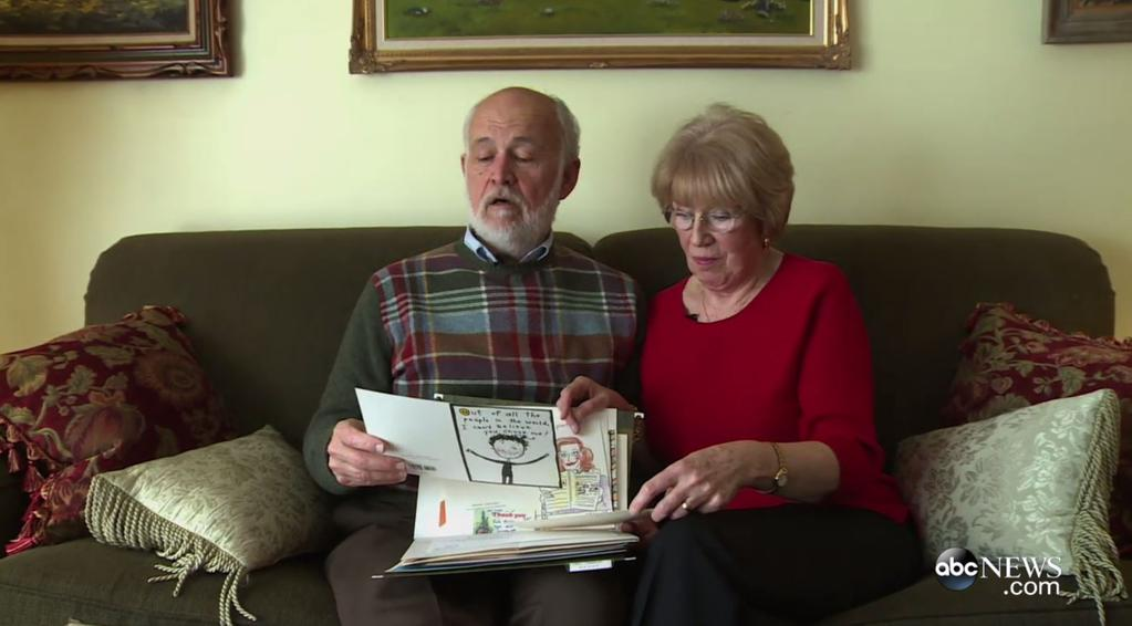 40 years devoted husband wrote his wife a love letter, and then his wife revealed to him his secret 04