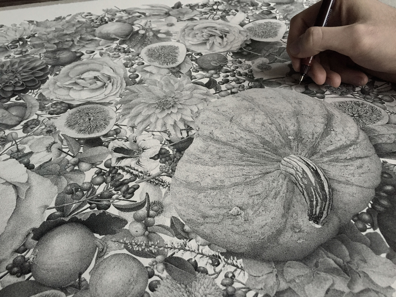 7-million-dots-and-370-hours-later-i-present-my-piece-called-autumn__13