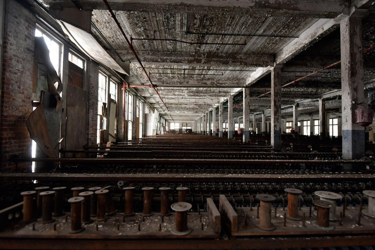 Abandoned Lonaconing Silk Mill 03