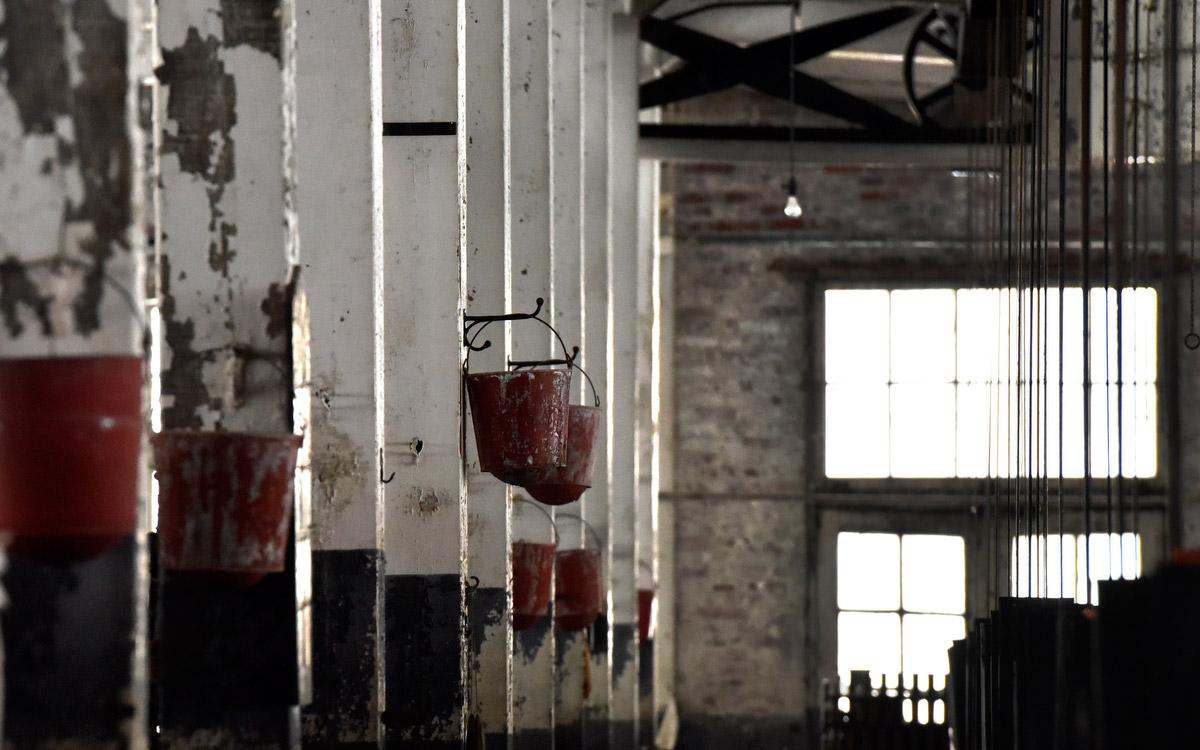 Abandoned Lonaconing Silk Mill 21