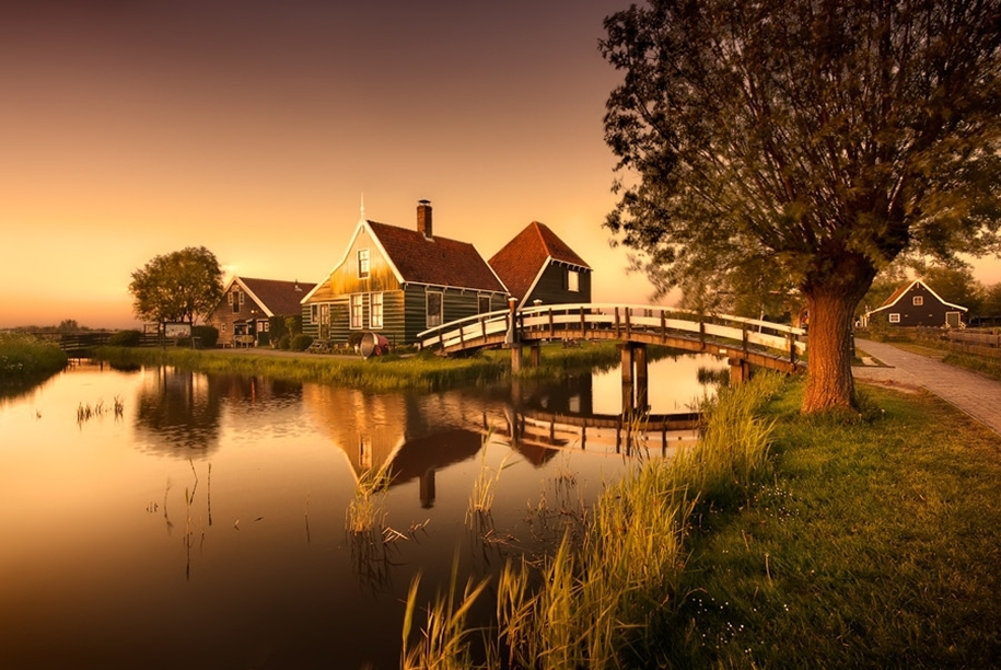 Atmospheric landscapes of Holland 01