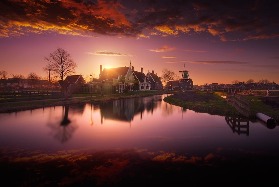 Atmospheric landscapes of Holland 11